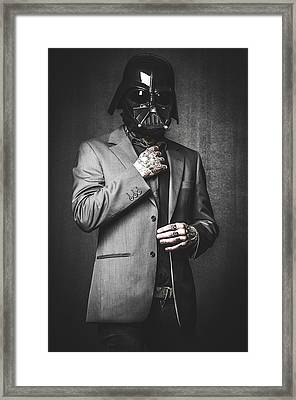 Star Wars Dressman Framed Print by Marino Flovent