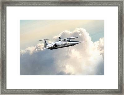 Starfighters Framed Print by Peter Chilelli