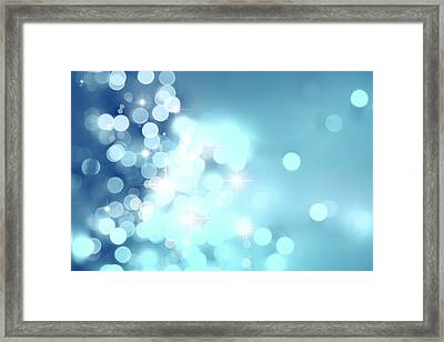 Stars Framed Print by Les Cunliffe