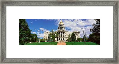 State Capitol Of Colorado, Denver Framed Print by Panoramic Images