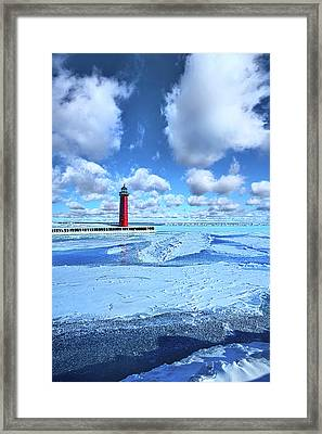 Framed Print featuring the photograph Steadfast by Phil Koch