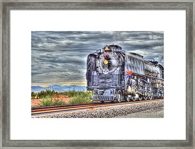Steam Train No 844 Framed Print