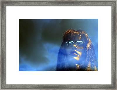 Steph Framed Print by Jez C Self