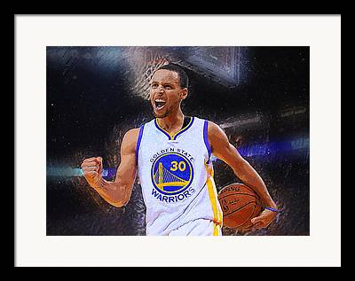 Cavaliers Digital Art Framed Prints