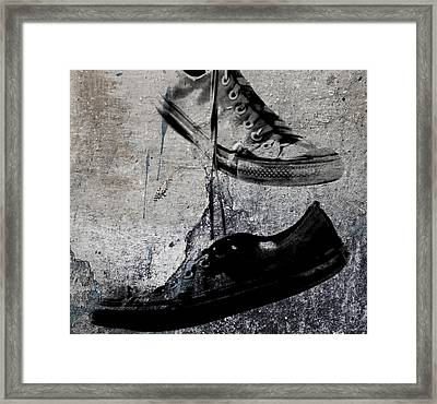 Steps Of Recovery  Framed Print by JC Photography and Art