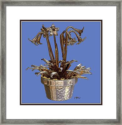Still Life With Flowers 1 Framed Print