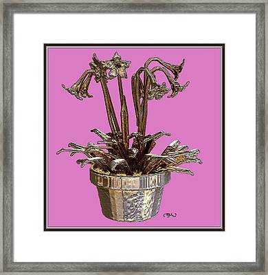 Still Life With Flowers 2 Framed Print