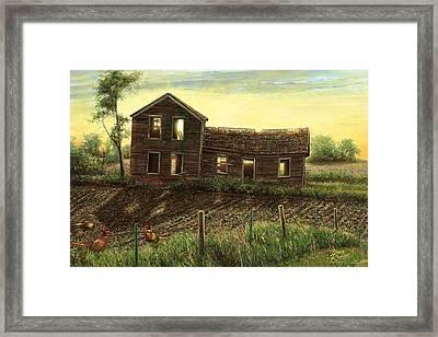 Still Light In The House Framed Print by Doug Kreuger