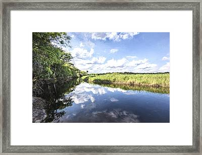 Still River II Framed Print by Jon Glaser