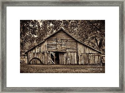 Still Standing After All These Years Framed Print by Dave Bosse