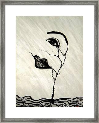 Still Standing Framed Print by Christine  Bennett