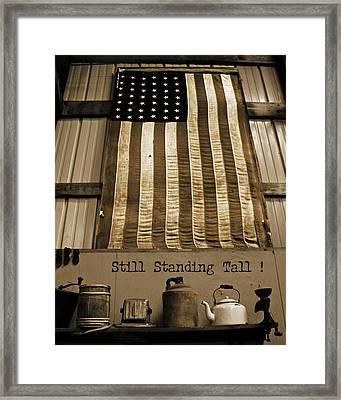 Still Standing Tall Framed Print