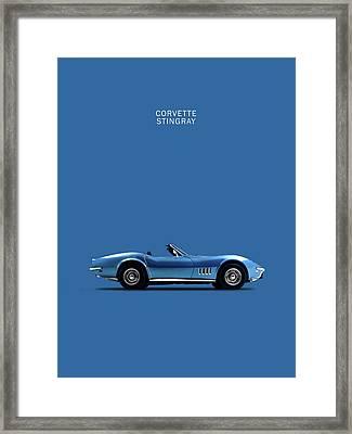 Stingray Framed Print by Mark Rogan