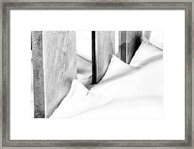 Stone Cold Framed Print