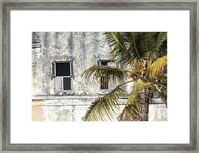 Stone Town The Old Town In Zanzibar City In Tanzania, Is A Unesco World Heritage Site Framed Print