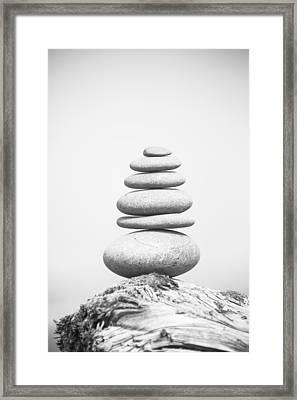 Stones 2 Framed Print by Ralf Kaiser