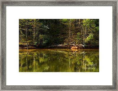 Stonewall Jackson Lake  Framed Print