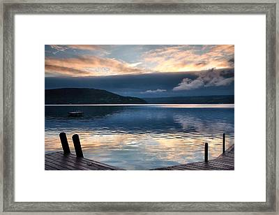 Storm Clearing Framed Print