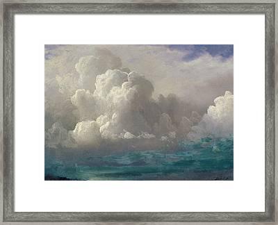 Storm Clouds Framed Print by Albert Bierstadt