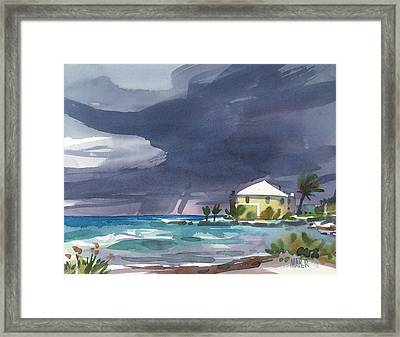 Storm Over Key West Framed Print