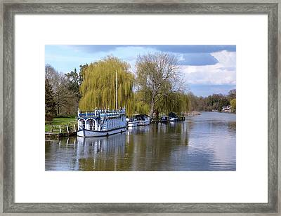 Strateley - England Framed Print