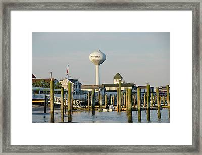 Strathmere New Jersey Framed Print by Bill Cannon