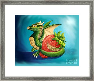 Strawberry Dragon Framed Print