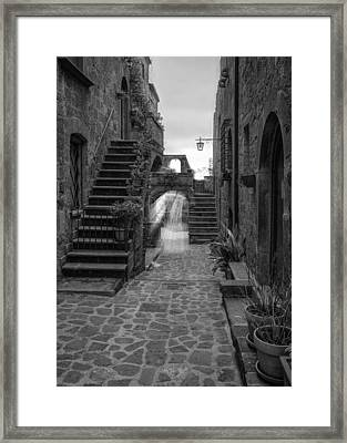 Street Light Framed Print by Michael Avory