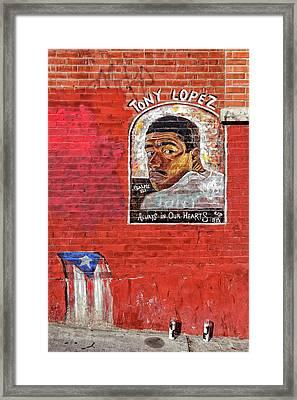 Street Memorial Framed Print by Robert Ullmann