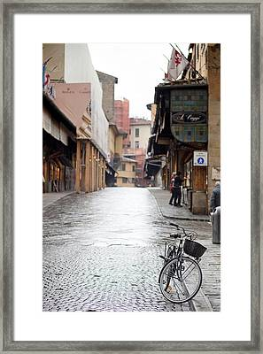 Streets Of Florence Framed Print