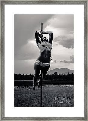 Strength  Framed Print by Scott Sawyer