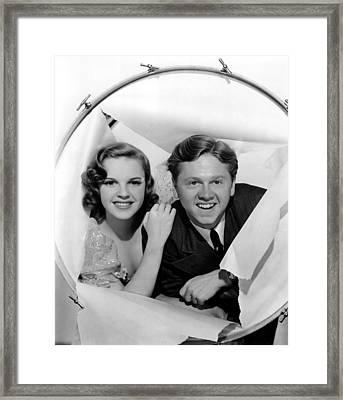 Strike Up The Band, Judy Garland Framed Print