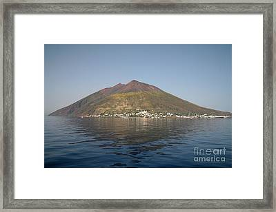 Stromboli Volcano, Aeolian Islands Framed Print by Richard Roscoe