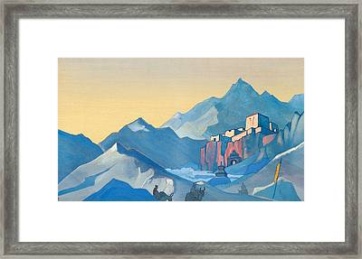 Stronghold Of The Spirit Framed Print by Nicholas Roerich