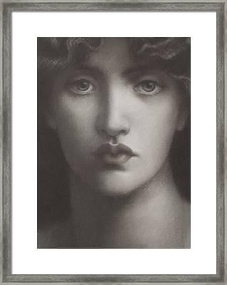 Study Of Jane Morris Framed Print