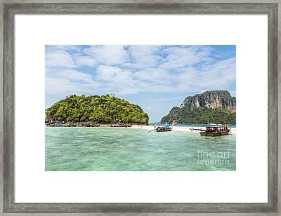 Stunning Krabi In Thailand Framed Print