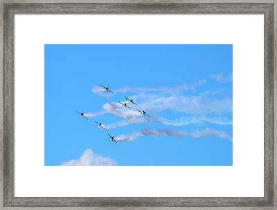 Stunt Planes  Framed Print