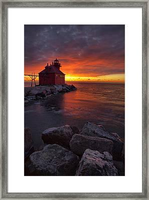 Sturgeon Bay 1 Framed Print