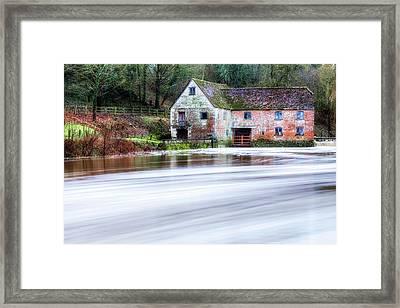 Sturminster Newton Mill - England Framed Print by Joana Kruse