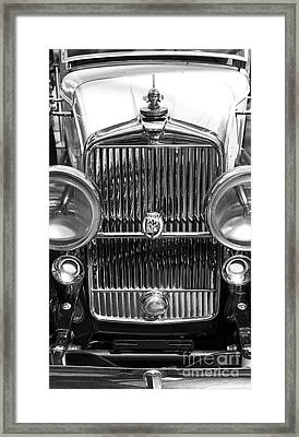 Stutz Sedan At Indianapolis Airport Framed Print by ELITE IMAGE photography By Chad McDermott