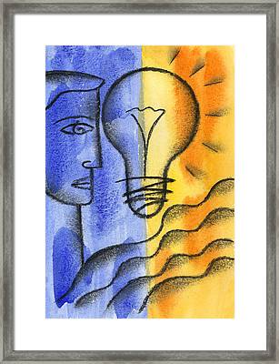 Framed Print featuring the painting Success by Leon Zernitsky