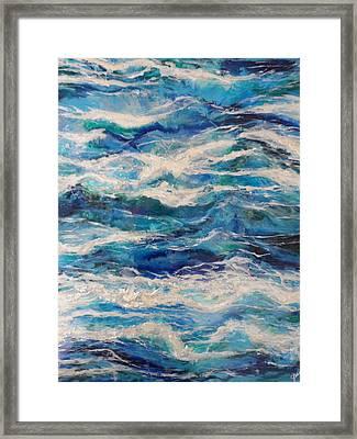 Suite Madam Blue Framed Print