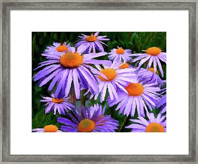 Framed Print featuring the painting Summer Dreaming by David Dehner