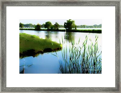 Framed Print featuring the mixed media Summer Dreams by Betty LaRue