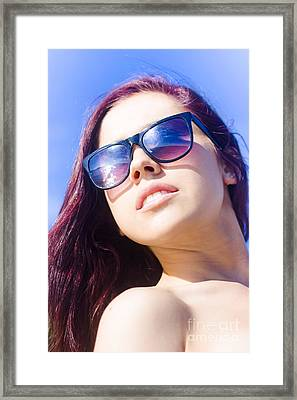 Summer Fashion Framed Print
