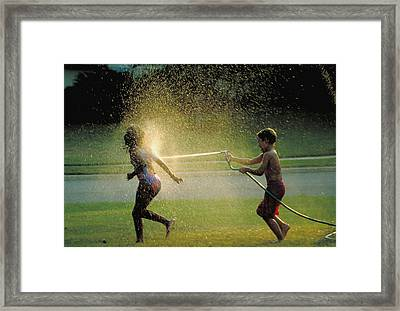 Summer Fun Framed Print