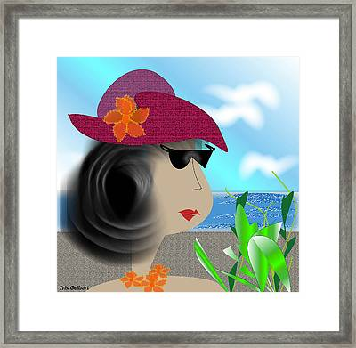 Summer,  I'm Ready Framed Print