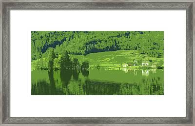 Summer In Norway Framed Print