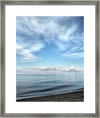 #summer Framed Print