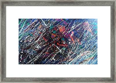 Summer Night Party Framed Print by Stephane Trahan